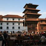 combination of different architecture from Kathmandu Durbar Square