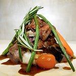 Beef Tenderloin & Portabella Stack