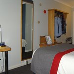 My Third-Floor, en-suite bedroom was warm, clean and comfortable