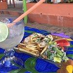 Shrimp burritos (more like enchiladas)