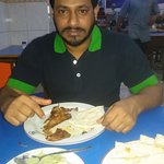 chicken chap & nan ruti