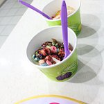 Add your topping to your FroYo
