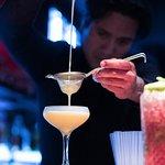 cocktails at ginger
