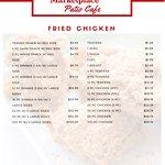 Olsens Marketplace Patio Cafe Menu Page 2
