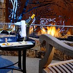 Vail Cascade Exterior Fireplace