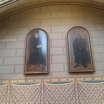 ルターとメランヒトンの絵。