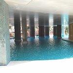 Indoor part of the pool