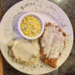 Chicken fried chicken