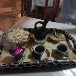 Ethiopian coffee. Yummy!