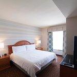 King Bed Junior Suite Bedroom Area