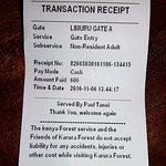 Karura Forest Nairobi Ticket