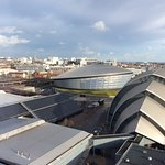A view from the hotel room. Stunningly beautiful Glasgow