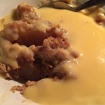 Apple crumble/custard