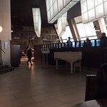 Restaurant, it's a lot bigger than it looks