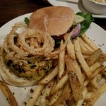 The bacon wrapped meatloaf, edo burger (don't reccommend) and the crab and pimento cheese dip wh