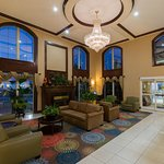 Hotel Lobby with fireplace- Short Drive To Downtown Asheville