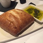 Fresh bread and great olive oil dip