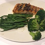 Grilled Salmon with lots of veggies