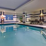Make a splash in our heated indoor swimming pool