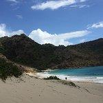 sand dunes at Saline beach