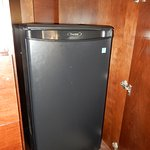Fridge included in the room