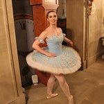 Ballerina on the tour
