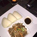 My duck, vegetables and dumpling dinner was extraordinary