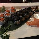 Spider Roll, Crunch Roll and Sashimi