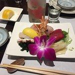 Beautiful sashimi dish
