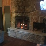 Pictures from our visit. We loved our cabin. The fireplace was wonderful!