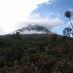 Close to volcano