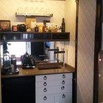mini-bar in room