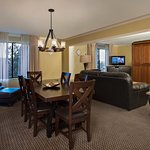 Parlor Suites are popular for family gatherings, military reunions, and common areas to fellowsh
