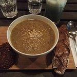 Dalh Indien aux Lentilles du Puy (pain à l'épeautre et Pain de Pulpe de Légume & Graine de Tourn