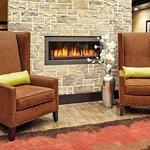 Perfect Mix Lobby Fireplace