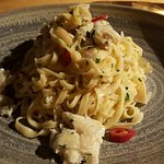 Very tasty 'linguine, blue swimmer crab, chilli, garlic, lemon' - Feb '17