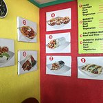 Updates about Sunset Grill:  This is like a burrito bar. Food is fresh and homemade. Items from