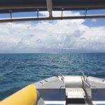 Heading towards Mackay Reef.