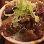 grilled Hida Beef rice bowl small size