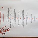 La Saint Valentin  2017 au Restaurant le Bicorne