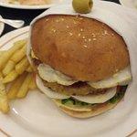 My Ham Burger Dinner with Fries