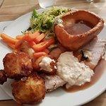 My Carvery Turkey dinner!
