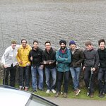 Edinburgh Fly fishing with Ashwin and his Stag party
