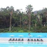 environnement superbe pour la piscine