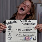 Becoming a We Freedive instructor is an achievement of a lifetime