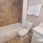 Efficiency Suite Bathroom