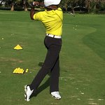 On the Range - Golf Pro Ramon Mendoza