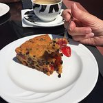Heavenly Fruit Cake and Superb Coffee