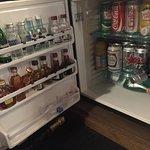 Minibar fridge