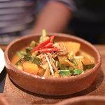 Mega spicy jungle curry - vegetarian delight